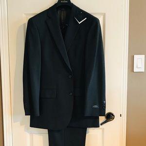 Men's Dark Blue/Gray Suit